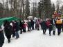 Яркие моменты Масленичной ярмарки в парке имени Зернова